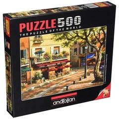 Puzzle Sanat Kahvesi. Brasserie Des Arts 500 pcs