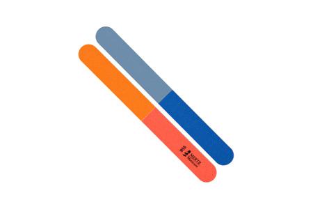 Пилка для натуральных ногтей MERTZ №955. Абразивность #100/150/220/240 грит.