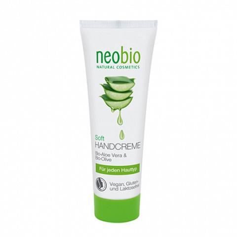 Neobio, Смягчающий крем для рук, 75мл