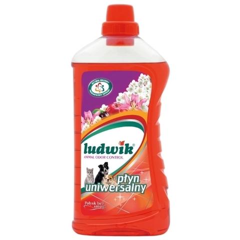 LUDWIK Универсальное средство с функцией поглощения запахов домашних животных 1л.