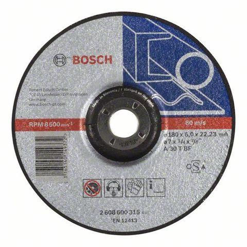 Круг шлифовальный Bosch Expert for Metal 180x6 мм