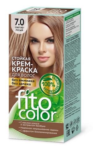 Фитокосметик Fito Color Стойкая крем-краска для волос тон Светло-русый 115мл