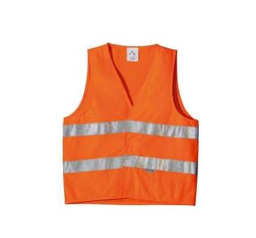 Жилет светоотражающий сигнальный оранжевый
