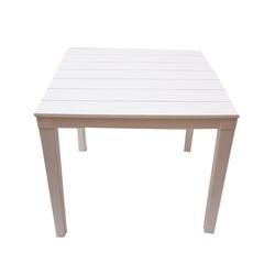 Пластиковый квадратный стол
