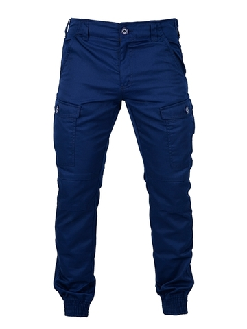 Blue military trousers