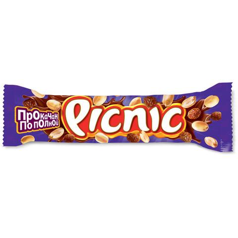 Шоколадный батончик Picnic 38 г