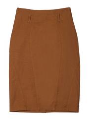 3894-1 юбка женская, коричневая