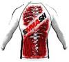 Рашгард Smmash Blood  LS White 2.0