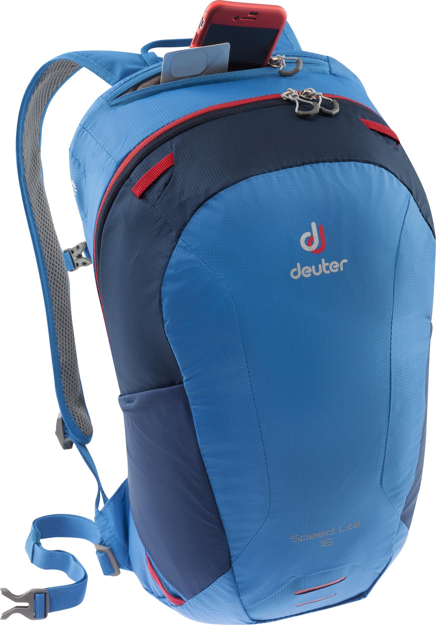 Туристические рюкзаки легкие Рюкзак с поясом Deuter Speed Lite 16 (2020) 3410119-3100-SpeedLite16-d3.jpg