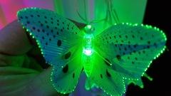 Гирлянда домашняя бабочки 8м в ассортименте