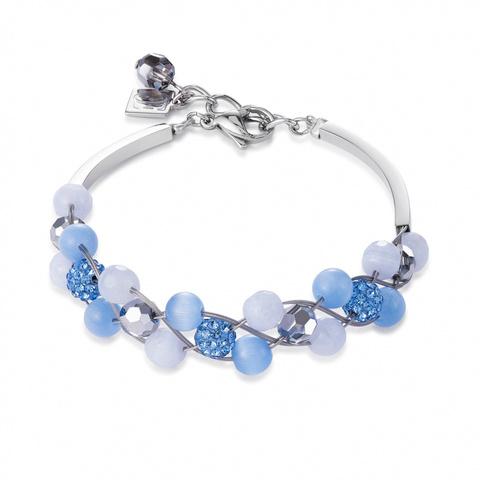 Браслет Coeur de Lion 4895/30-0720 цвет голубой