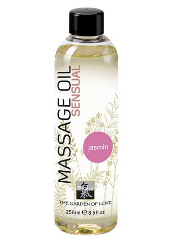 Массажное масло с ароматом жасмина Shiatsu Massage Oil Sensual, 250 мл.