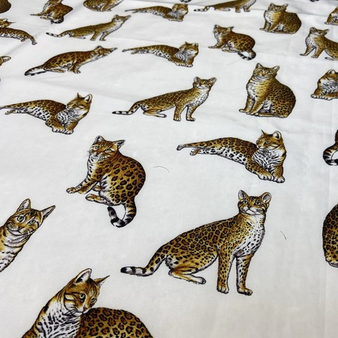 Ткань плашевка кошки в цвете 3031