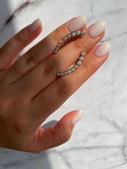 91781 - Серебряные серьги-зажимы из серебра