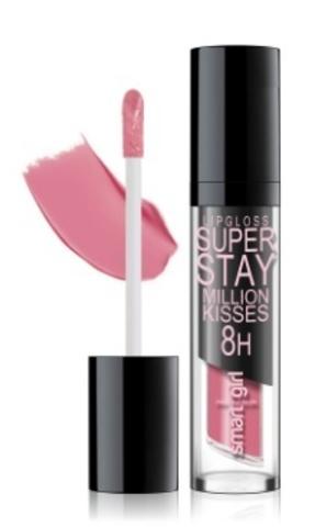 BelorDesign Smart Girl Супер стойкий блеск для губ Million kisses тон 213 розовый мед