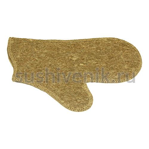 Войлочная рукавица