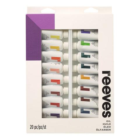 Набор масла Reeves 22 мл*20 цв, в картонной упаковке