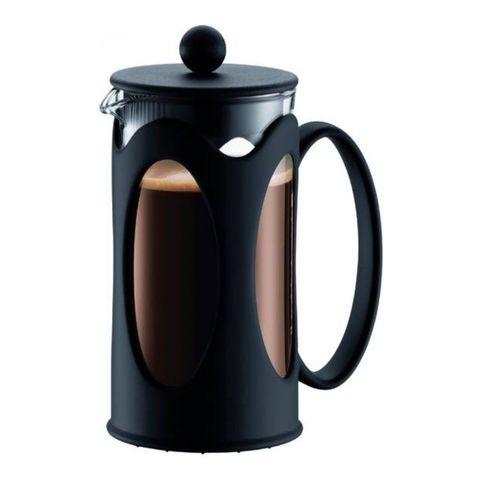 Кофейник френч-пресс Bodum Kenya New, 0,35 л, цвет черный