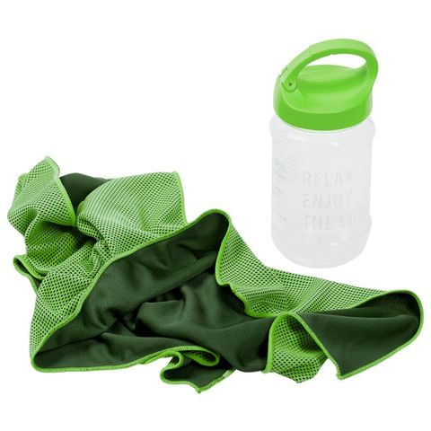 Weddell Cooling Towel, green