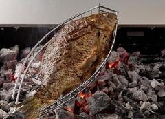 Решетка-гриль для рыбы 14х36 см