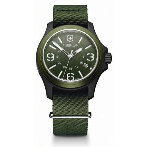 Часы наручные кварцевые, Green Victorinox (241514)