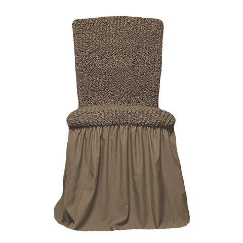 Чехол на стул, какао
