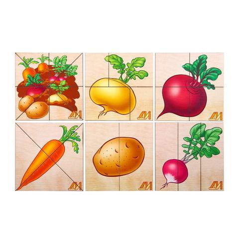 Разрезные картинки Овощи 2