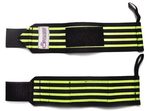 Напульсник (пара) для тяжелой атлетики с петлёй для пальца. ТА5