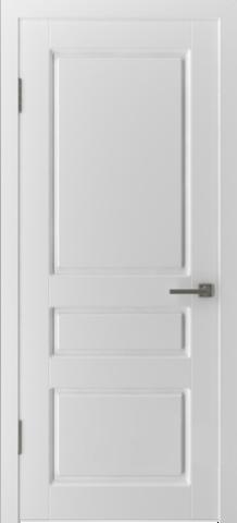 Дверь Владимирская фабрика дверей 15ДГО, цвет белая эмаль, глухая