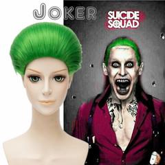 Отряд самоубийц Парик для косплея Джокер