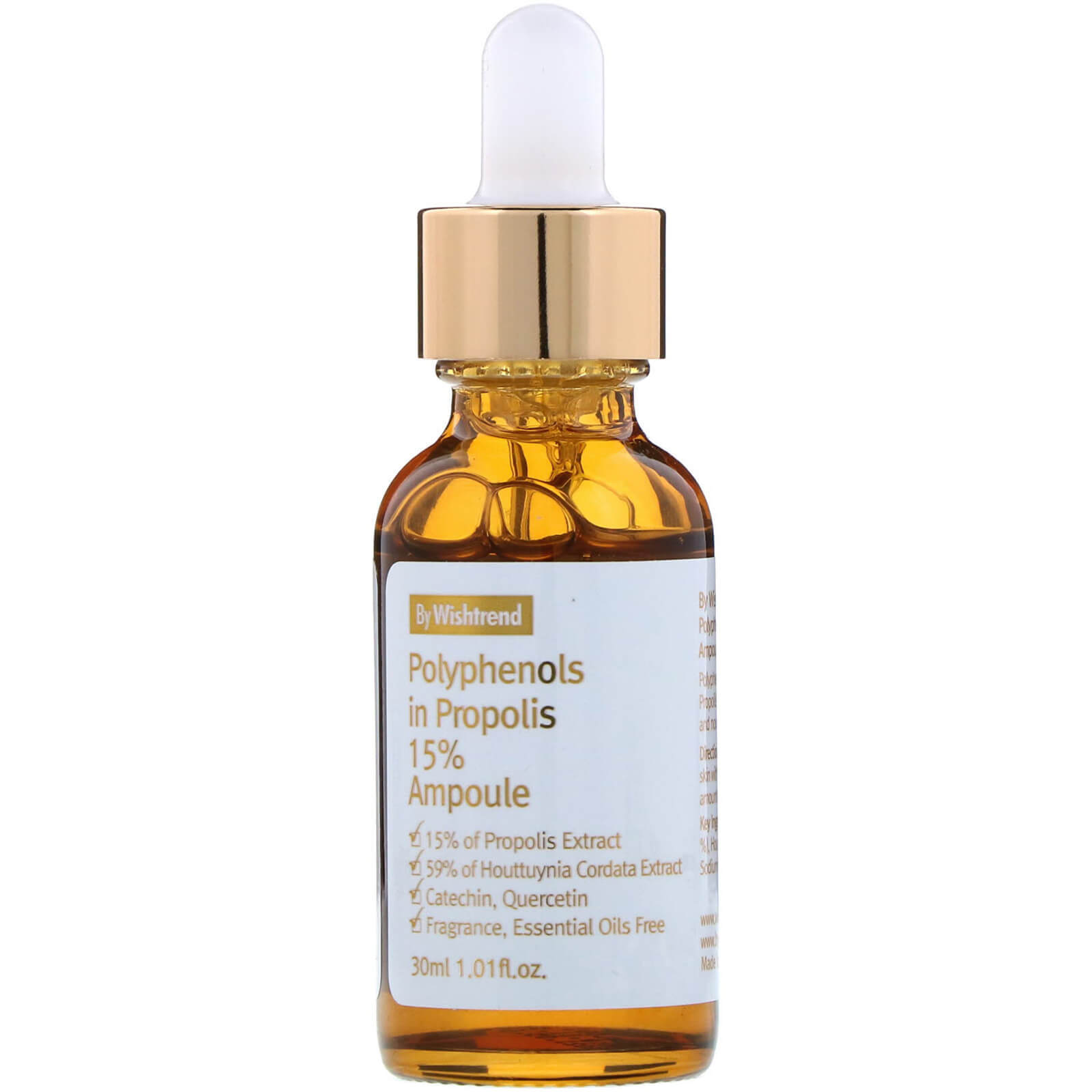 Сыворотка By Wishtrend Polyphenols in Propolis 15% Ampoule 30 мл