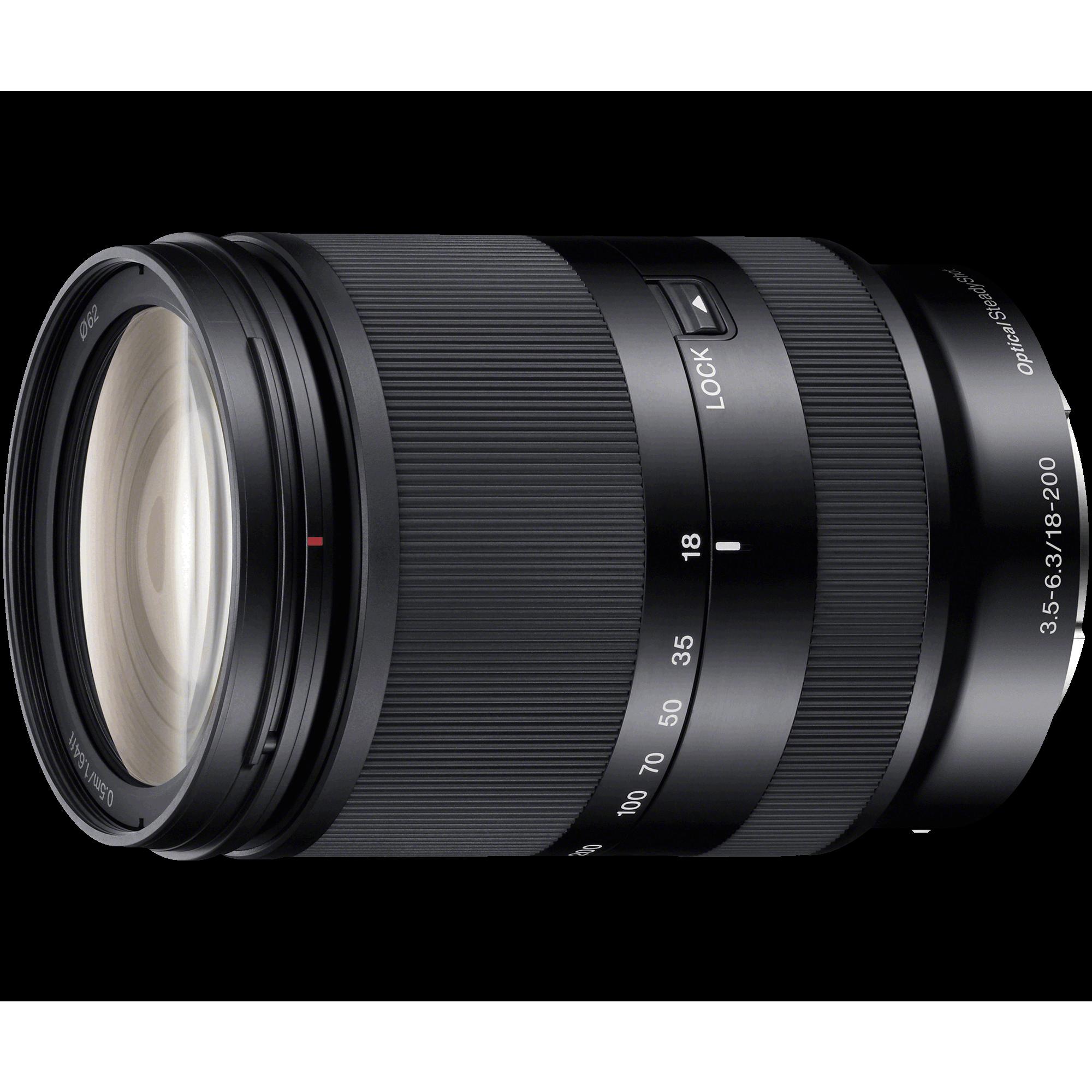 SEL-18200LE объектив Sony купить в Sony Centre Воронеж