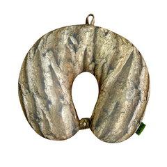 Подушка-подголовник «Кора», коричневая 1