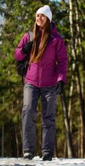 Женский утеплённый прогулочный лыжный костюм Nordski Motion Iris/Grey