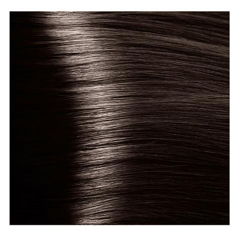 Крем краска для волос с гиалуроновой кислотой Kapous, 100 мл - HY 5.0 Светлый коричневый