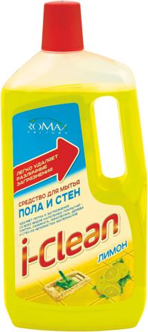 Фабрика Ромакс i-Clean Средство для мытья пола и стен Лимон 1000мл