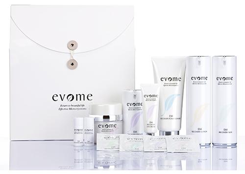 Набор восстанавливающей косметики для лица, Evome