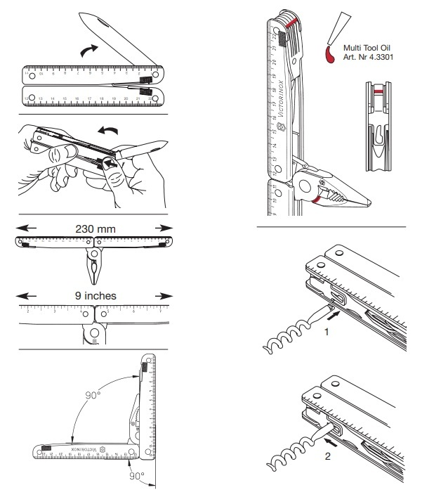 Мультитул Victorinox SwissTool (3.0323.L) 115 мм. в сложенном виде, кожаный чехол - Wenger-Victorinox.Ru