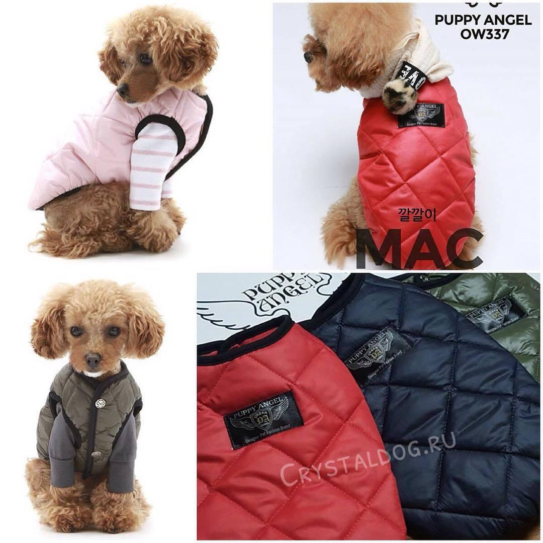 Куртки для собак mac стежка
