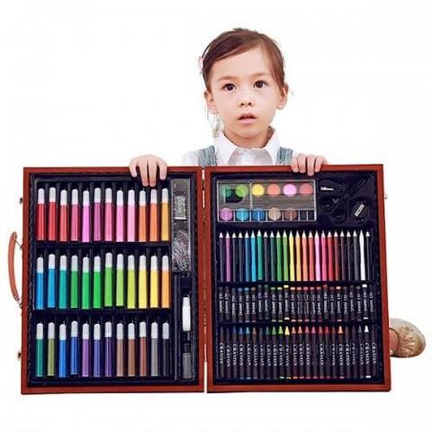 Набор Super Mega Art Set для рисования, 168 предметов