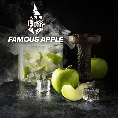 Табак Burn BLACK Famous Apple (Зелёное яблоко со льдом) 20 г