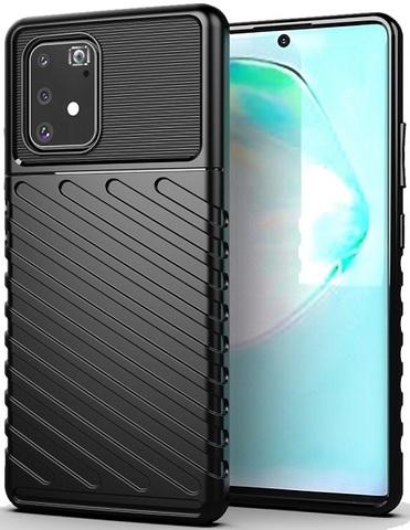 Чехол Samsung Galaxy A91 (M80S) цвет Black (черный), серия Onyx, Caseport