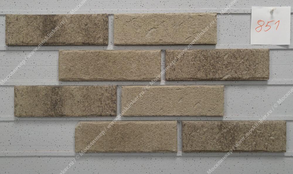 Roben - Manus, Kyra carbon, NF14, 240x14x71 - Клинкерная плитка для фасада и внутренней отделки