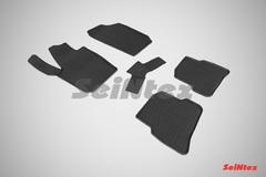 """Резиновые коврики """"Сетка"""" для Ibiza (с 2012)"""