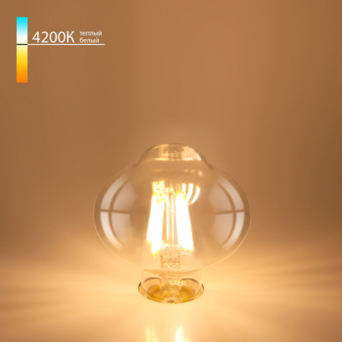 Филаментная светодиодная лампа L80 10W 4200K E27 FDL 10W 4200K E27