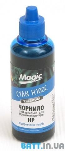 Чернила HP-Cyan универсальные ( Premium) 100 мл