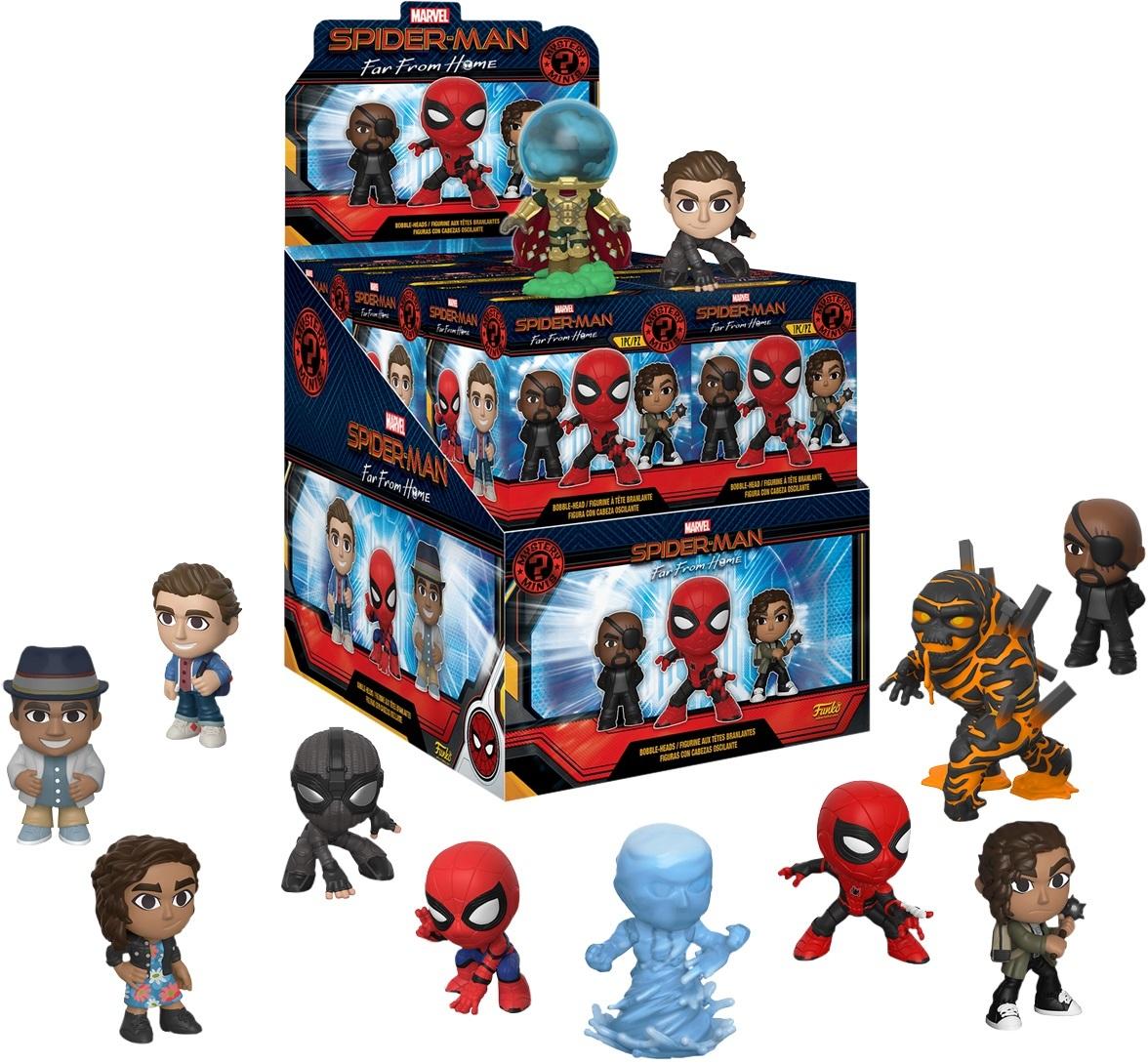 Фигурка Funko Mystery Minis:  Marvel: Spider-Man: Far From Home (1шт.)