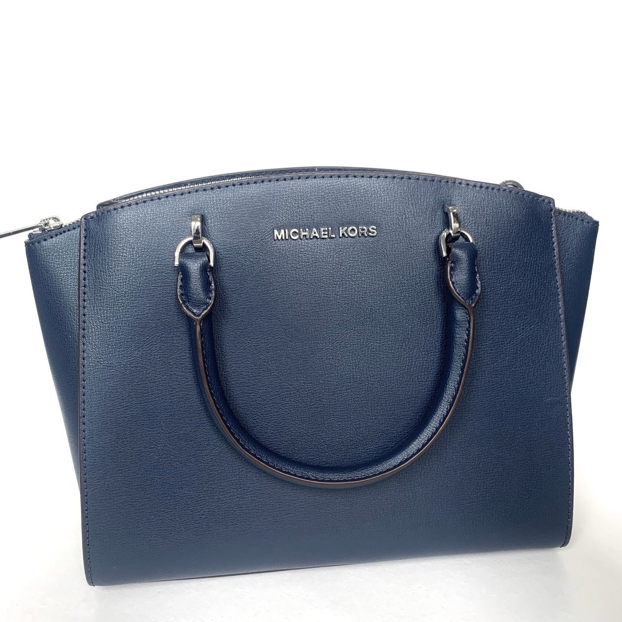 Сумка Michael Kors ELLIS LG Satchel NAVY