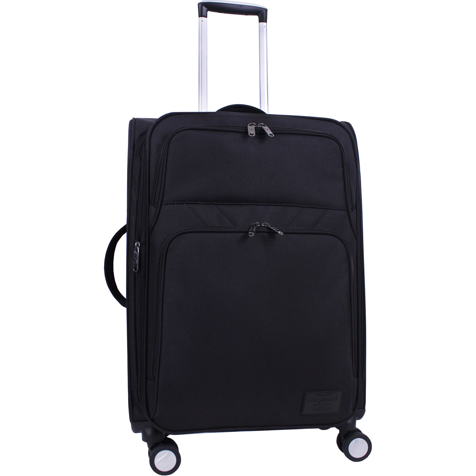 Дорожные чемоданы Чемодан Bagland Валенсия средний 63 л. Чёрный (003796624) IMG_6828.JPG