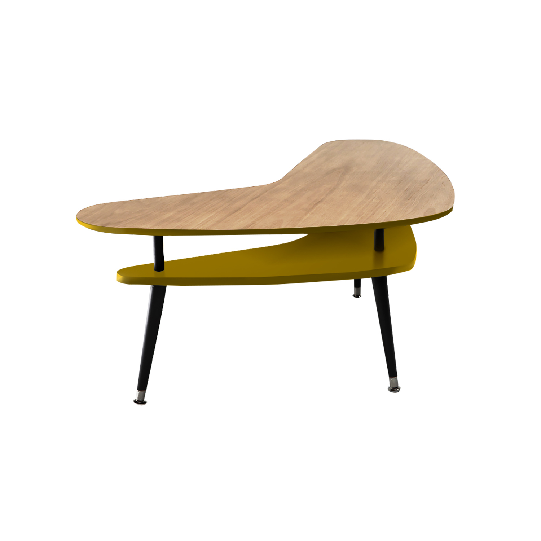 Журнальный стол Woodi Бумеранг дуб